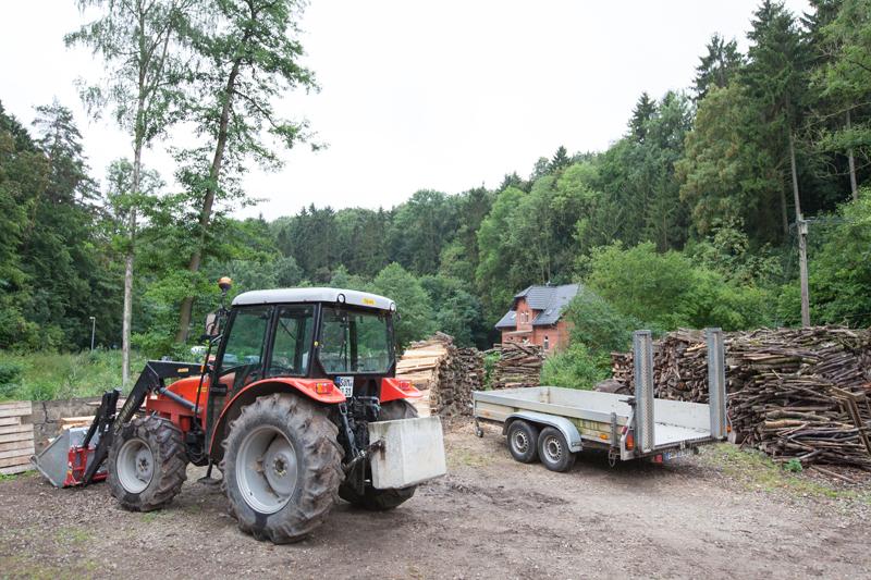 Brennholzverkauf Stiftung Finneck